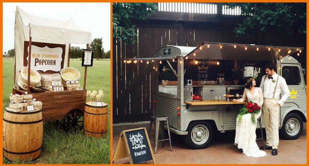 Tendances mariages 2021 food truck