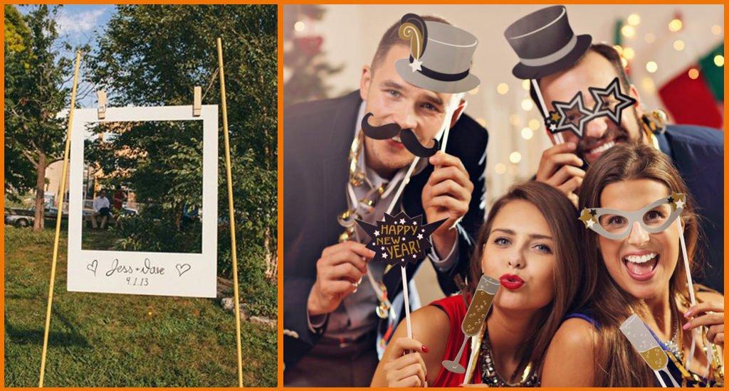 Tendances mariages 2021 photobooth