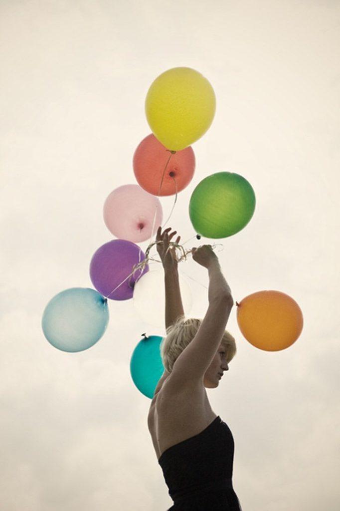 ballon décoration artifices jour